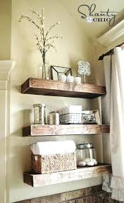 Best Bathroom Shelves Bathroom Shelf Decor Engem Me