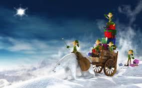 christmas elves wallpaper christmas elves and presents 1920 x 1200 christmas