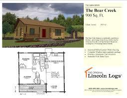 the bear creek 44 990 00 the original lincoln logs