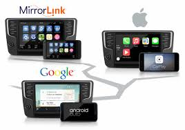 mirror link android volkswagen releases carplay android auto mirrorlink auto