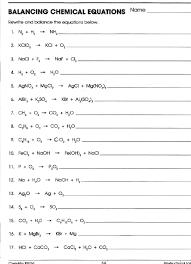 balancing chemical equations worksheet grade 10 futurespastart com