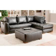 Albany Sectional Sofa Albany Leather Sectional Sofa Bla Walmart