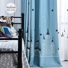 Blue Curtains For Nursery by Popular Blue Window Drapes Buy Cheap Blue Window Drapes Lots From