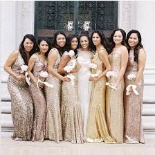 gold long bridesmaid dresses plus size custom made china cheap