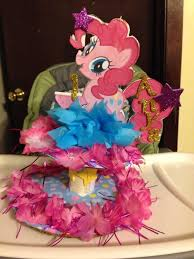 my pony centerpieces table centerpieces