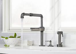 bridge kitchen faucets watermark bridge kitchen faucet superb nakatomb