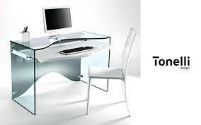 bureau ordinateur en verre bureau informatique en verre bureau informatique en verre
