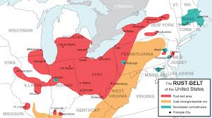 Canada Usa Map by Bible Belt Pocket Press Bible Belt Pocket Press Unchurched Belt