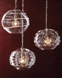 Blown Glass Pendant Lights Pendant Lights Neiman