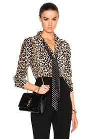 equipment blouse equipment leopard print kate moss slim signature blouse with