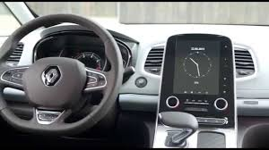 2015 new renault espace interior design automototv youtube