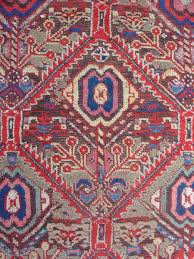 Faded Persian Rug by Northwest Persian Kurdish Long Rug With Classic Geometricized