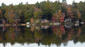 New England Homes by Norway Maine Beautiful Fall Scene Of Lake Pennasseewassee With