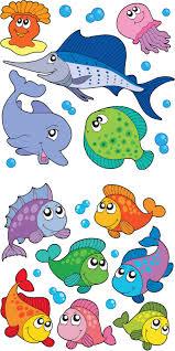 kleurplaat vissen coloring page fish kids n fun vissen vis