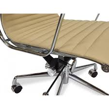 Eames Lounge Chair Replica Management Leather Office Chair Eames Replica Light Brown