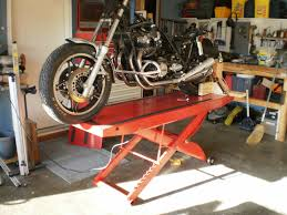 Motorcycle Bench Lift Share Your Motorcycle Work Bench Pictures Here Page 2 South