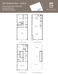 floor plans 216 walnut ave unit a walnut 206