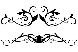 vector floral ornamental border clip 123freevectors