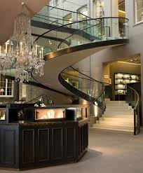 Luxury Home Interior Designers Glass Staircase Wealth And Luxury Grand Mansions Castles Dream