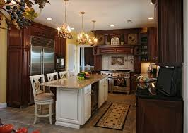 kitchens with different colored islands are cherry cabinets still in style 3 exles to prove they are