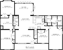 floor plans ranch hemlock ranch modular home floor plans apex homes