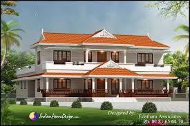 Traditional Style Home by Kerala Style 2288 Sqft Villa Design Traditional Double Floor