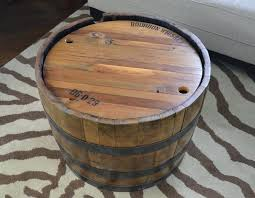 whiskey barrel side table recycled wine barrel side table wine barrel table whiskey barrel