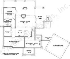 camp cullowee mountain house plans luxury house plans camp cullowee house plan
