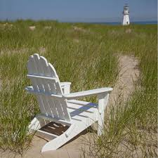 buy polywood classic adirondack chair premium poly patios