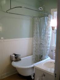 Shower Curtain Clawfoot Tub Solution Clawfoot Tub Showers Add A Shower To A Clawfoot Tub Faucet