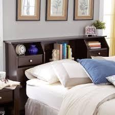 bookshelf headboards bookcase headboards you ll love wayfair