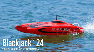 pro boat blackjack 24 inch catamaran brushless rc boat ready to