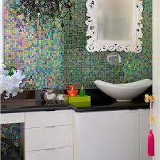 contemporary modern retro bathroom photos