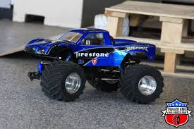 bigfoot monster trucks firestone bigfoot u2013 pro mod trigger king rc u2013 radio controlled