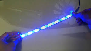 blue led strip pc dx com youtube