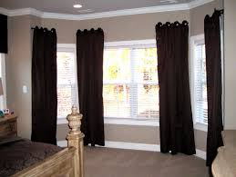 Dining Room Window Treatments Ideas Home Office Window Treatment Ideas For Living Room Bay Window
