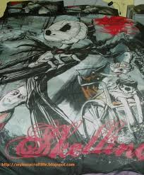 Jack Skellington Comforter Set My Busy Craft Life Halloweening A Witch U0027s Tea Party