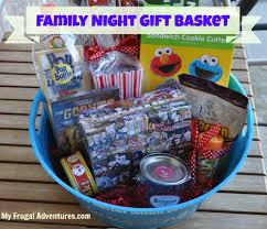 family gift basket ideas gift idea ticket gift wrap my frugal adventures