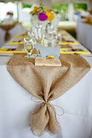 make your own table runner burlap table runner an affordable touch of texture kitchn
