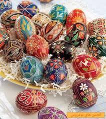 Easter Egg Decorating Blown Eggs by Uova Di Pasqua Decorate Con Semi Legumi E Cereali Pasqua