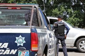 kenworth canadiense recupera ssp vehículo de carga robado minutos antes en uruapan