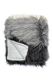 Faux Fur Throw Grey Nordstrom Rack Flokati Faux Fur Throw Nordstrom Rack