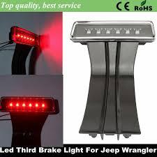 jeep jk led tail light bulb aliexpress com buy smoke lens for 2007 2017 jeep wrangler