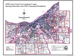 Ohio Zip Code Map by Northern Ohio Data And Information Service Cleveland State