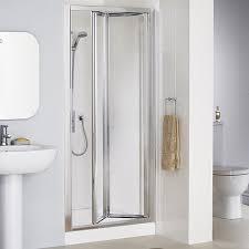 Shower Folding Doors Inspiring Bi Fold Shower Doors In Lakes 700mm Framed Door Home