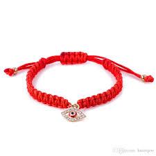 red bracelet thread images Red string bracelet evil eye red string of fate good luck jpg