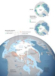 Arctic Map Polar Bear Territory National Geographic Society