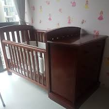 Boori Country Change Table Boori Luxury Nursery Set Baby Cot And Chest Of Drawers Home