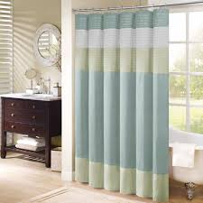 Fashion Shower Curtains Mint Green And Brown Shower Curtain Home Design And Decoration