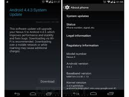 android 4 4 kitkat releases android 4 4 3 kitkat update for nexus 5 what
